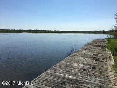Clinton County, Gratiot County, Isabella County, Kent County, Mecosta County, Montcalm County, Muskegon County, Newaygo County, Oceana County, Ottawa County, Ionia County, Ingham County, Eaton County, Barry County, Allegan County Residential Lots & Land For Sale: 6275 Riverside Road