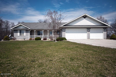 Edwardsburg Single Family Home For Sale: 18266 State Line Road