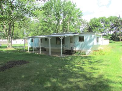 Coldwater MI Single Family Home For Sale: $69,000