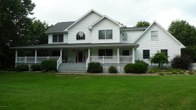 Paw Paw MI Single Family Home For Sale: $459,900