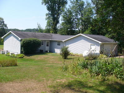 Hillsdale County Single Family Home For Sale: 4855 Fitzpatrick Road
