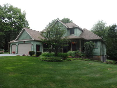 Manistee County Single Family Home For Sale: 3845 Linke