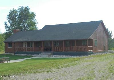 Benzie County, Charlevoix County, Clare County, Emmet County, Grand Traverse County, Kalkaska County, Lake County, Leelanau County, Manistee County, Mason County, Missaukee County, Osceola County, Roscommon County, Wexford County Multi Family Home For Sale: 8413 W 48 Road