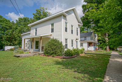 Big Rapids Single Family Home For Sale: 108 Division