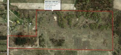 Oceana County Residential Lots & Land For Sale: 6716 N 128th Avenue