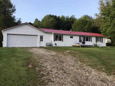 Barry County Single Family Home For Sale: 586 Gaskill Road