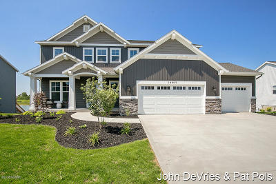 Allendale Single Family Home For Sale: 10907 Marsh Avenue