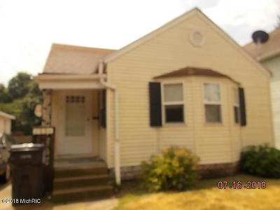 Sturgis Single Family Home For Sale: 103 1/2 Mechanic