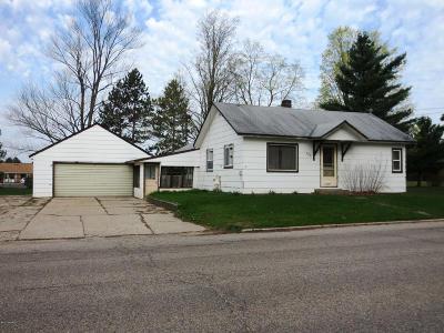 Evart Single Family Home For Sale: 709 N Cedar Street