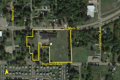 Berrien County Residential Lots & Land For Sale: 1200 E Main Street
