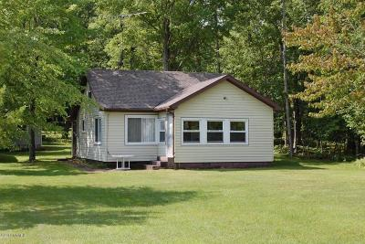 Mecosta MI Single Family Home For Sale: $199,900