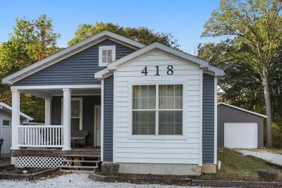 New Buffalo Single Family Home For Sale: 412 E Clay Street
