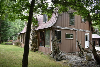 Benzie County, Charlevoix County, Clare County, Emmet County, Grand Traverse County, Kalkaska County, Lake County, Leelanau County, Manistee County, Mason County, Missaukee County, Osceola County, Roscommon County, Wexford County Single Family Home For Sale: 1185 S Tyndall Road