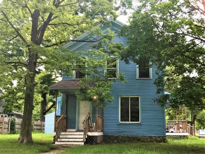 Allegan MI Single Family Home For Sale: $76,000
