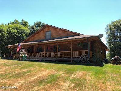 Berrien County, Branch County, Calhoun County, Cass County, Hillsdale County, Jackson County, Kalamazoo County, St. Joseph County, Van Buren County Single Family Home For Sale: 16698 E Cd Avenue