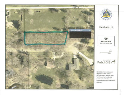 Residential Lots & Land For Sale: Iden Lane