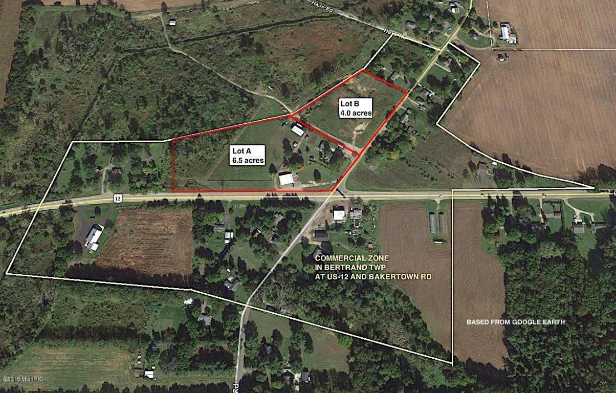 Buchanan Michigan Map.1780 Bakertown Road Lot B Buchanan Mi Mls 18040777 Berrien