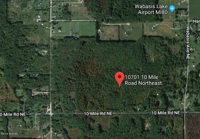 Rockford Residential Lots & Land For Sale: 10701 10 Mile Road NE