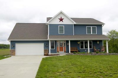 Berrien County, Branch County, Calhoun County, Cass County, Hillsdale County, Jackson County, Kalamazoo County, St. Joseph County, Van Buren County Single Family Home For Sale: 11775 Ambling Avenue