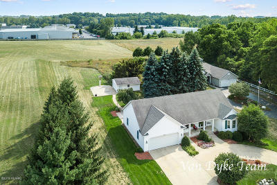 Ottawa County, Kent County Single Family Home For Sale: 3514 New Holland Street