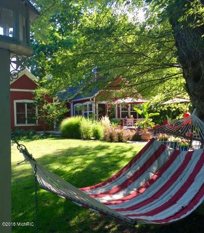 Saugatuck, Douglas Single Family Home For Sale: 164 Union Street