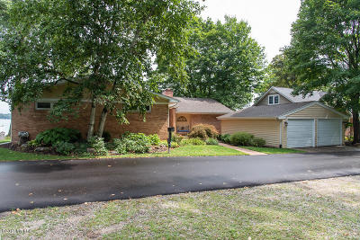 Kalamazoo County Single Family Home For Sale: 635 S Gull Lake Drive