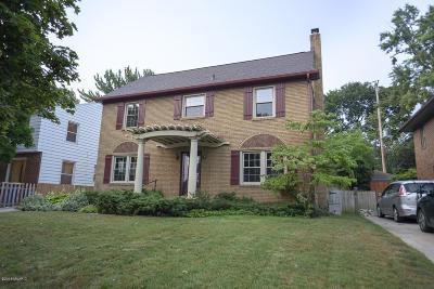 Grand Rapids Single Family Home For Sale: 1520 Franklin Street SE