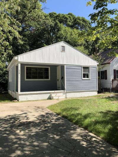Muskegon Heights Single Family Home For Sale: 3320 Lemuel Street