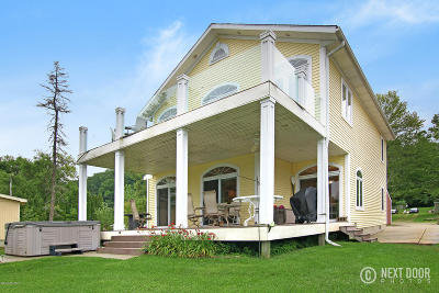 Barry County Single Family Home For Sale: 4058 S Shore Drive