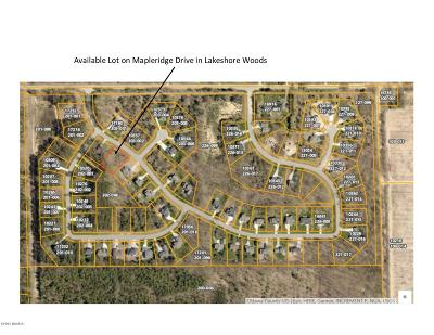 West Olive Residential Lots & Land For Sale: Mapleridge Drive (Lot 64) Drive