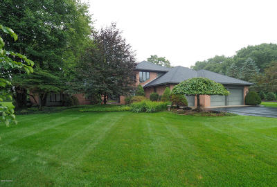 Kalamazoo County Single Family Home For Sale: 7355 Oak Shore Drive