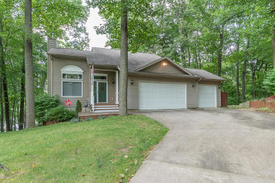 Plainwell Single Family Home For Sale: 14116 S Lake Doster Drive