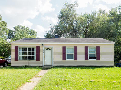 Kalamazoo Single Family Home For Sale: 1050 E Mosel Avenue