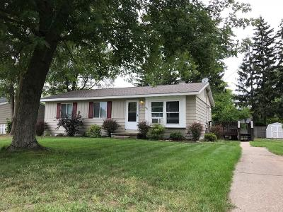 Muskegon Single Family Home For Sale: 1940 Kregel Avenue