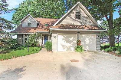 Single Family Home For Sale: 4223 N Lakeshore Drive