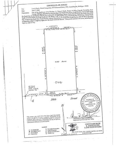 Ada Residential Lots & Land For Sale: 8151 28th Street SE