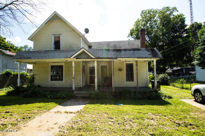 Dowagiac Single Family Home For Sale: 208 E Prairie Ronde Street