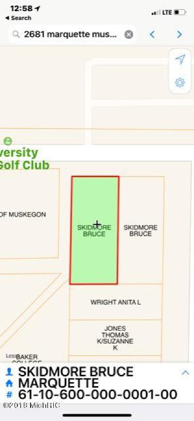 Muskegon Residential Lots & Land For Sale: 2101 Marquette Avenue