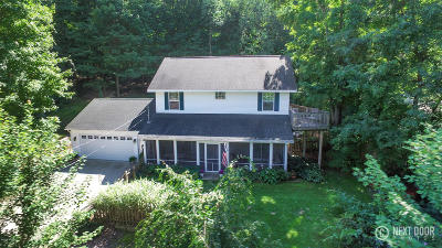 Fennville Single Family Home For Sale: 6074 Mallard Drive