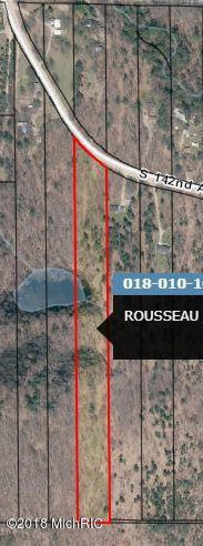 Oceana County Residential Lots & Land For Sale: V/L S 142nd Avenue