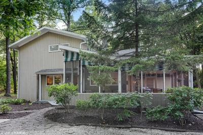 Harbert, Lakeside, New Buffalo, Sawyer, Three Oaks, Union Pier Single Family Home For Sale: 19322 Highland Drive