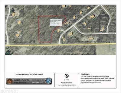 Isabella County Residential Lots & Land For Sale: 5 W River Road
