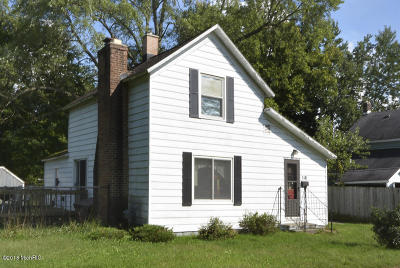 Paw Paw Single Family Home For Sale: 518 N Lagrave Street