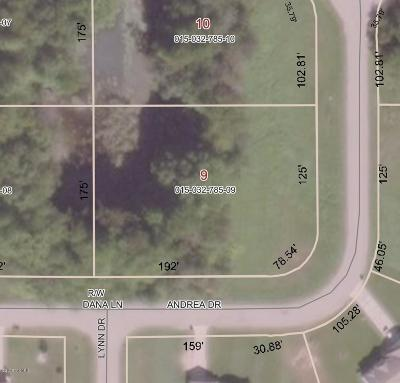 Sand Lake Residential Lots & Land For Sale: 137 Andrea Drive
