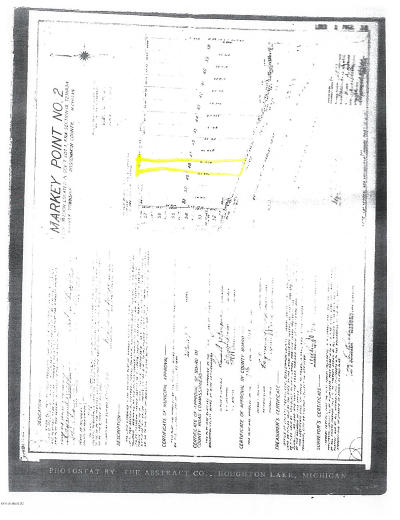 Roscommon County Residential Lots & Land For Sale: Houghton Lake Road