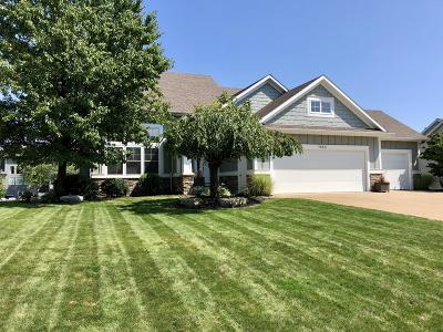 Hudsonville Single Family Home For Sale: 7880 Meadowood Drive