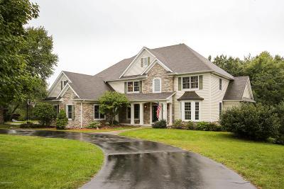 Berrien County, Branch County, Calhoun County, Cass County, Hillsdale County, Jackson County, Kalamazoo County, St. Joseph County, Van Buren County Single Family Home For Sale: 22661 Saddle Ridge Lane