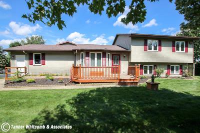 Caledonia Single Family Home For Sale: 8372 Breton Avenue SE