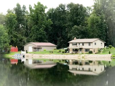 Eaton County Single Family Home For Sale: 10458 N Clinton Trail