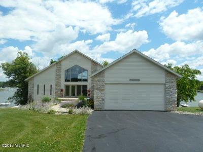 Branch County, Hillsdale County Single Family Home For Sale: 14263 W Diane Drive